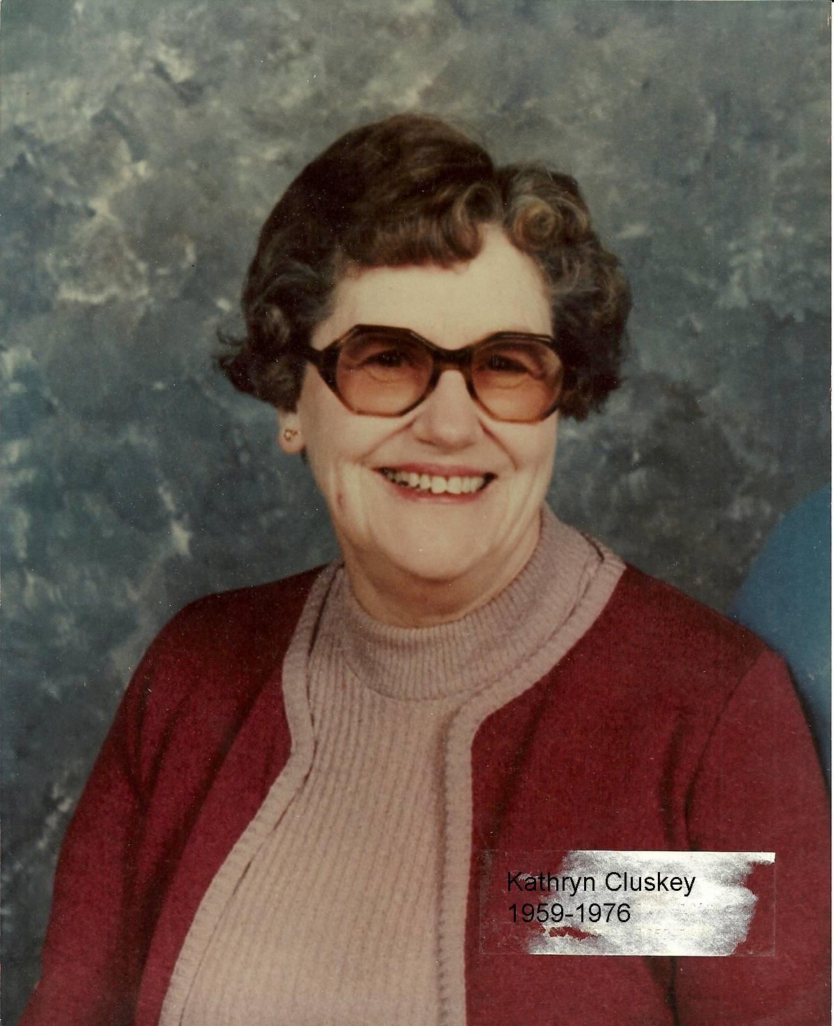 Kathryn Cluskey