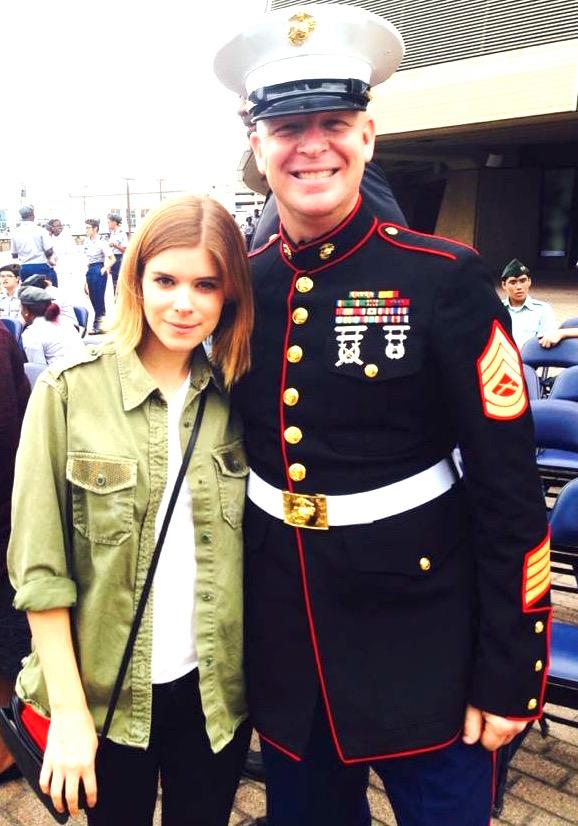 Kate Mara, Veteran's Day gig at Superdoom in NOLA 2015