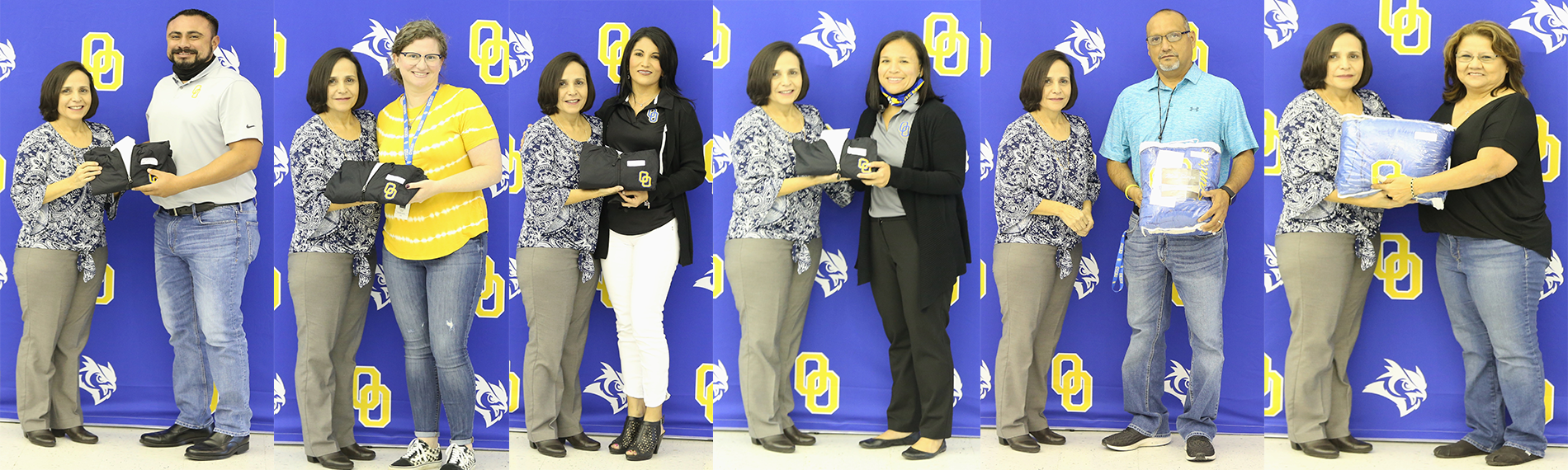 Recipients of service awards OHS-OJH