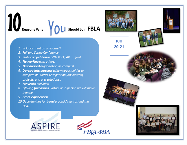10 Reasons to Join FBLA