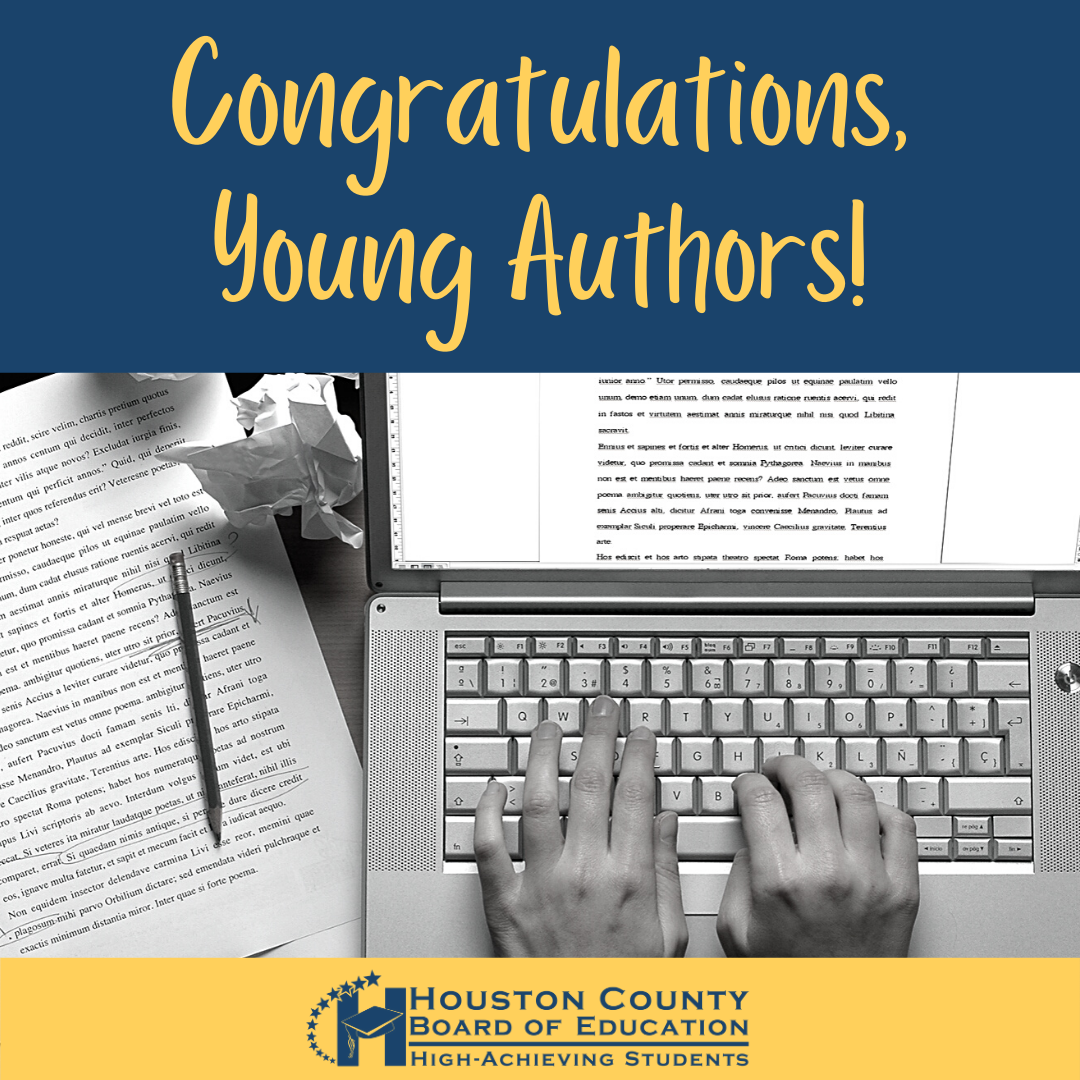 Congrats, young authors!