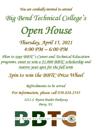 Big Bend Technical College Open House