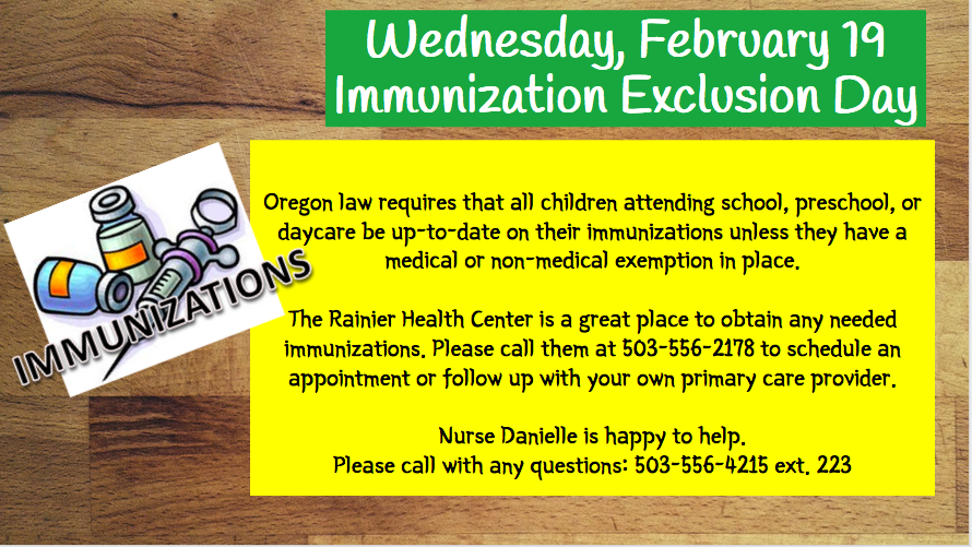 Immunization Exclusion Day