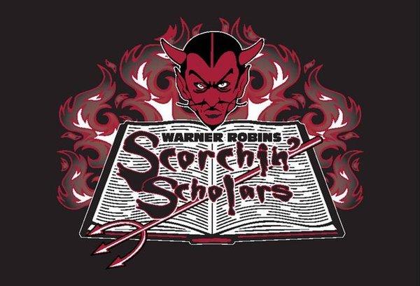 Scorchin' Scholars Book Club logo
