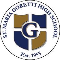 St. Maria Goretti High School logo