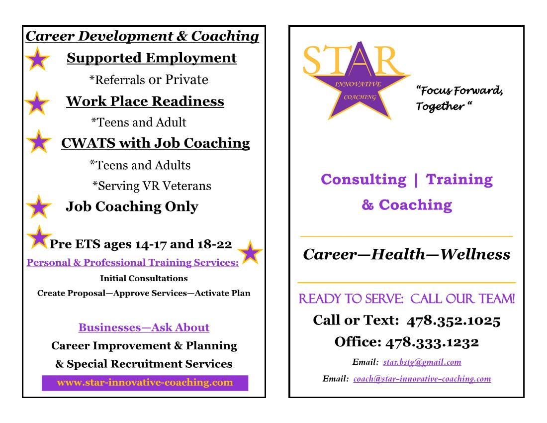 Brochure - Star Innovative Coaching 2021 - Page1