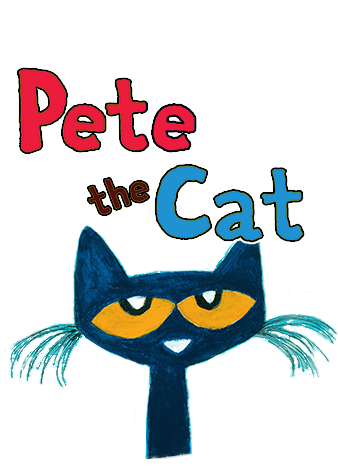 Pete the Cat logo with link to the Activities page of the official website
