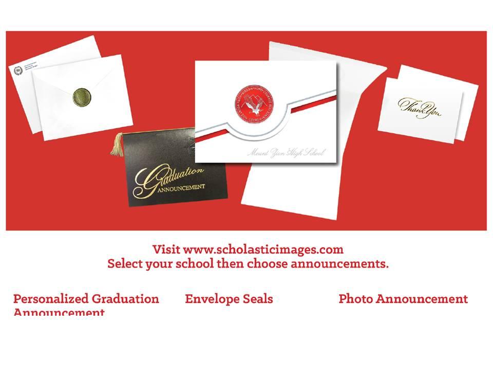 grad announcement info