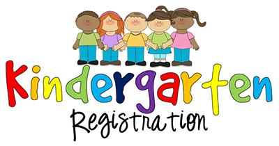 clipart of children for Kindergarten registration