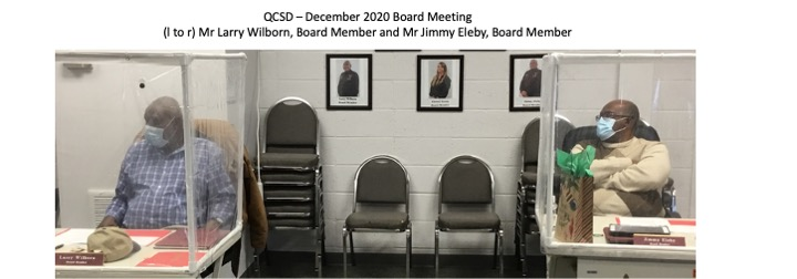 Mr Eleby and Mr Wilborn December 2020 Board Meeting