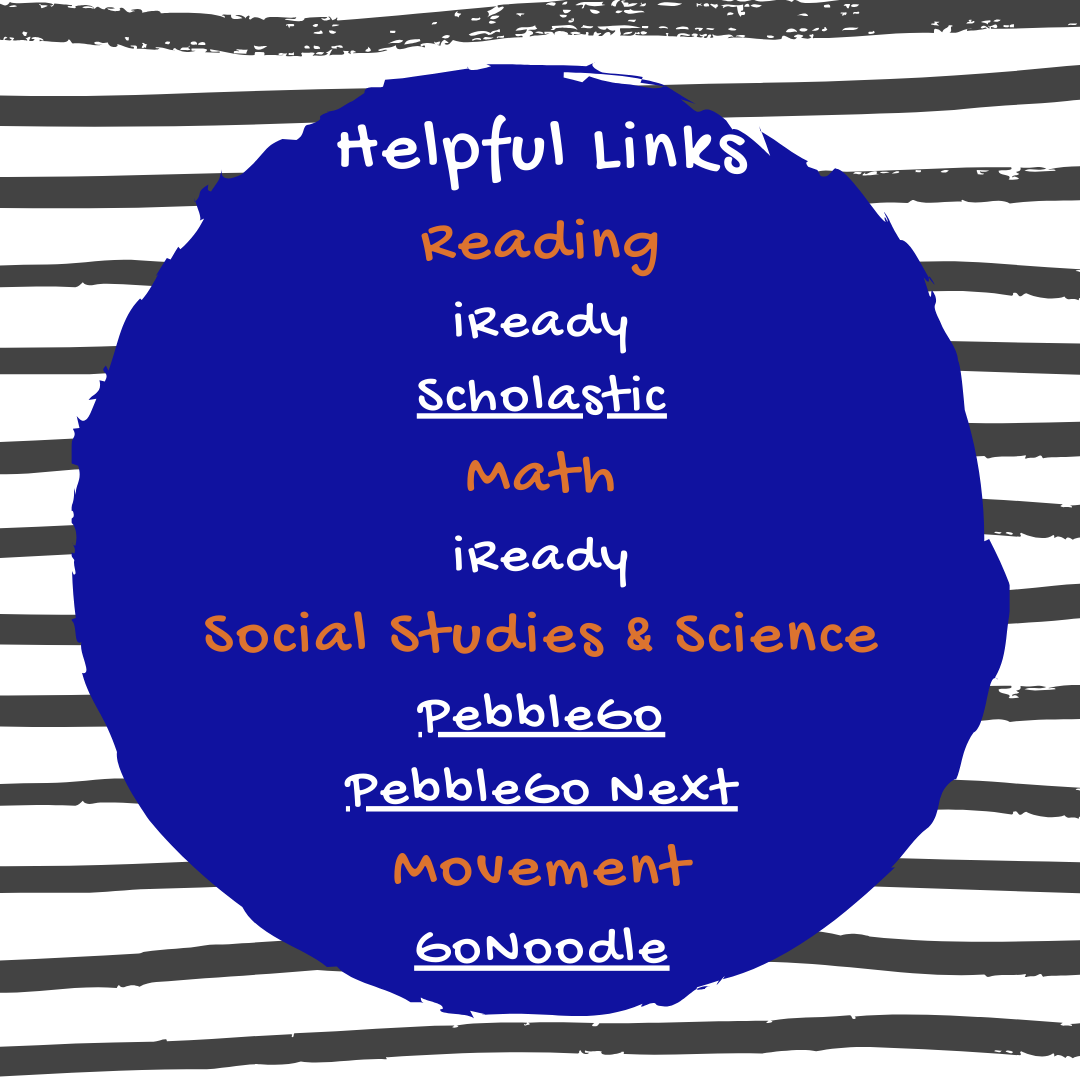 This is a list of helpful links for parents and students