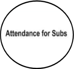 Attendance for Subs