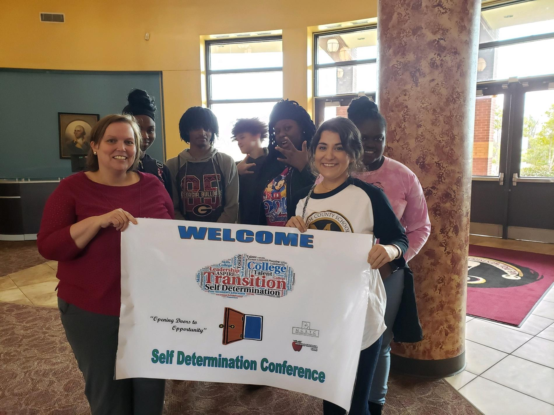 MCAC students attended Self Determination Conference