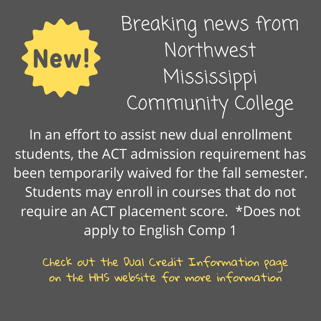 Students admitted under this temporary waiver will need to take the ACT and have official scores submitted to the Office of Admissions & Records by December 1, 2020. Students will be unable to obtain a transcript or register for the spring semester until official ACT scores have been received.