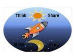Think Share Make Grow Rocket