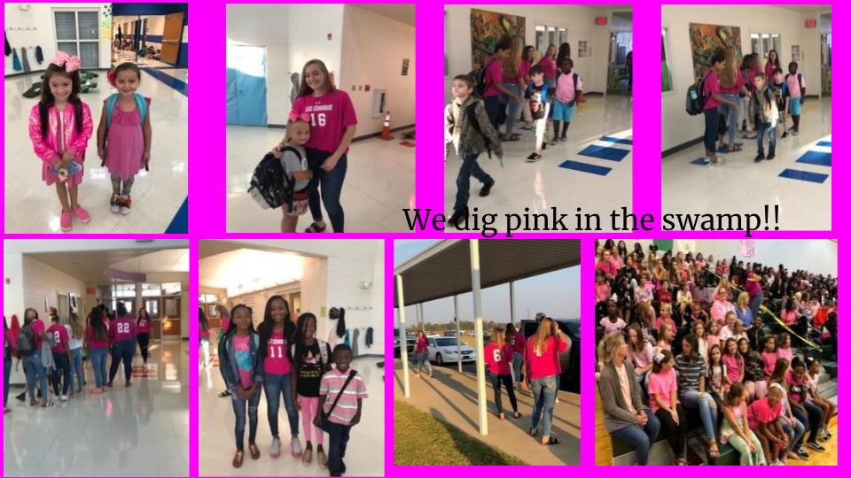 We DIG pink