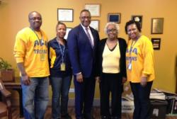 Cook County Commissioner Boykin Visits ASA