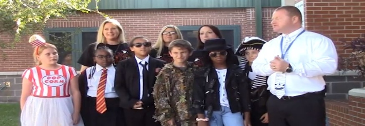 Participants in the Fall State of the District Video