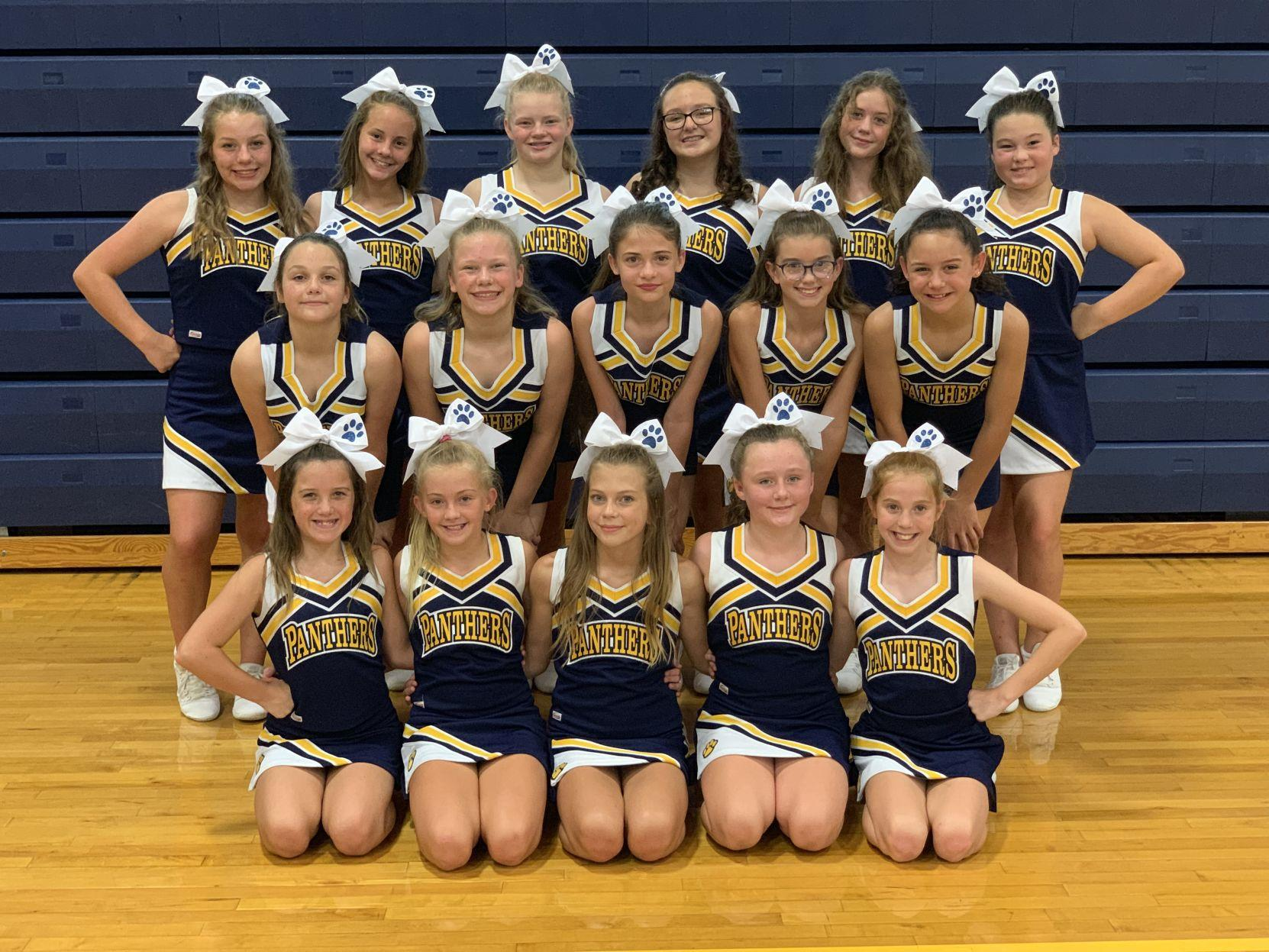 CHMS 20019-2020 Cheerleaders