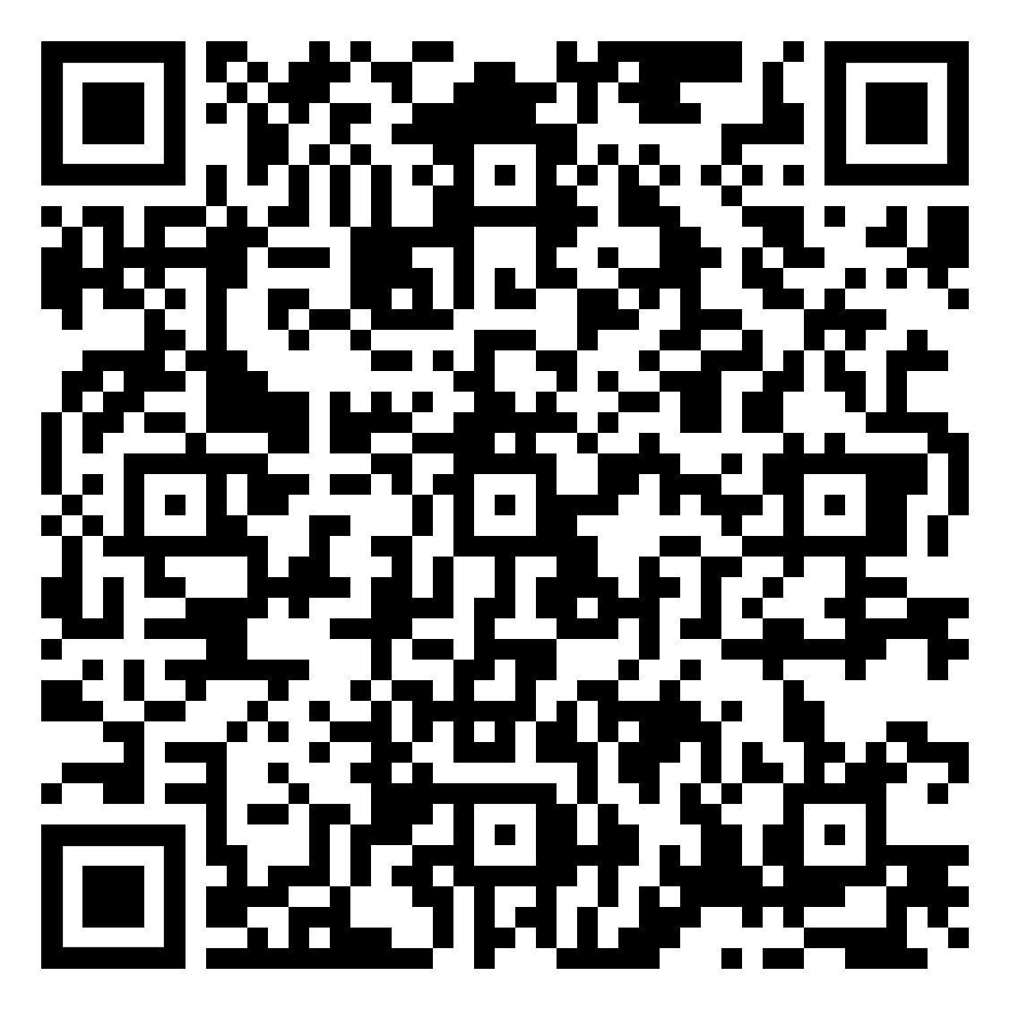 COVID-19 Screener Form QR Code