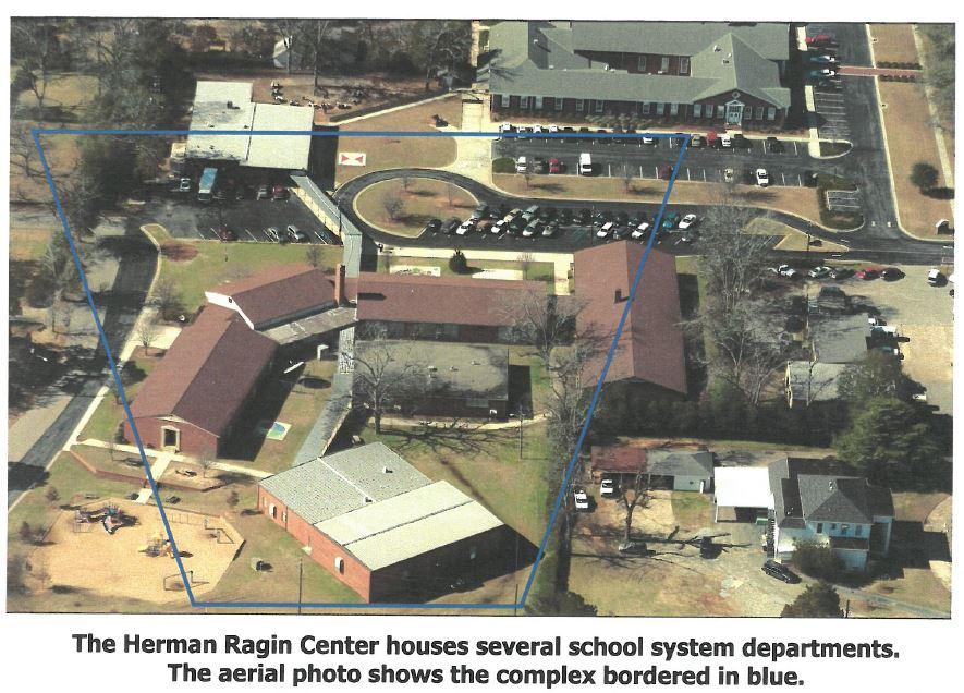 Aerial View of Herman Ragin Center