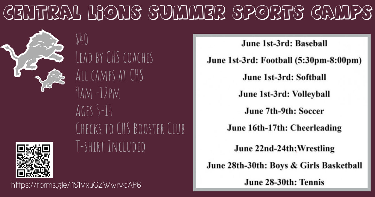 CHS Summer Camps