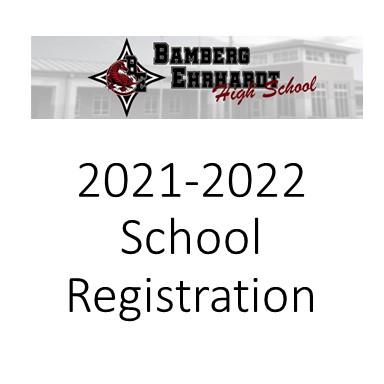 school registration with logo