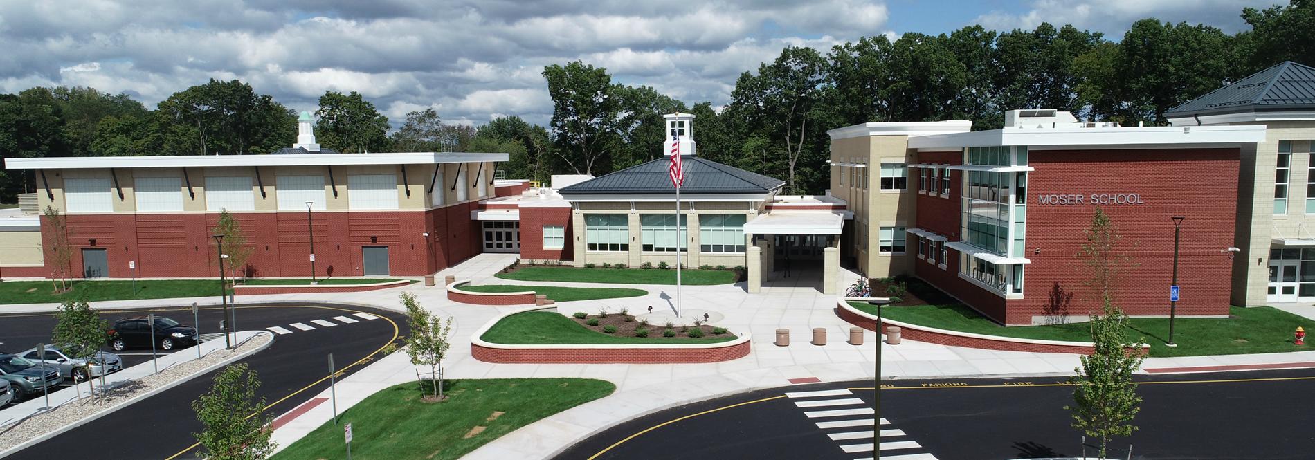 Moser School Front Entrance