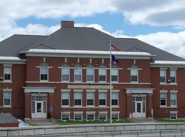 Colebrook Academy building