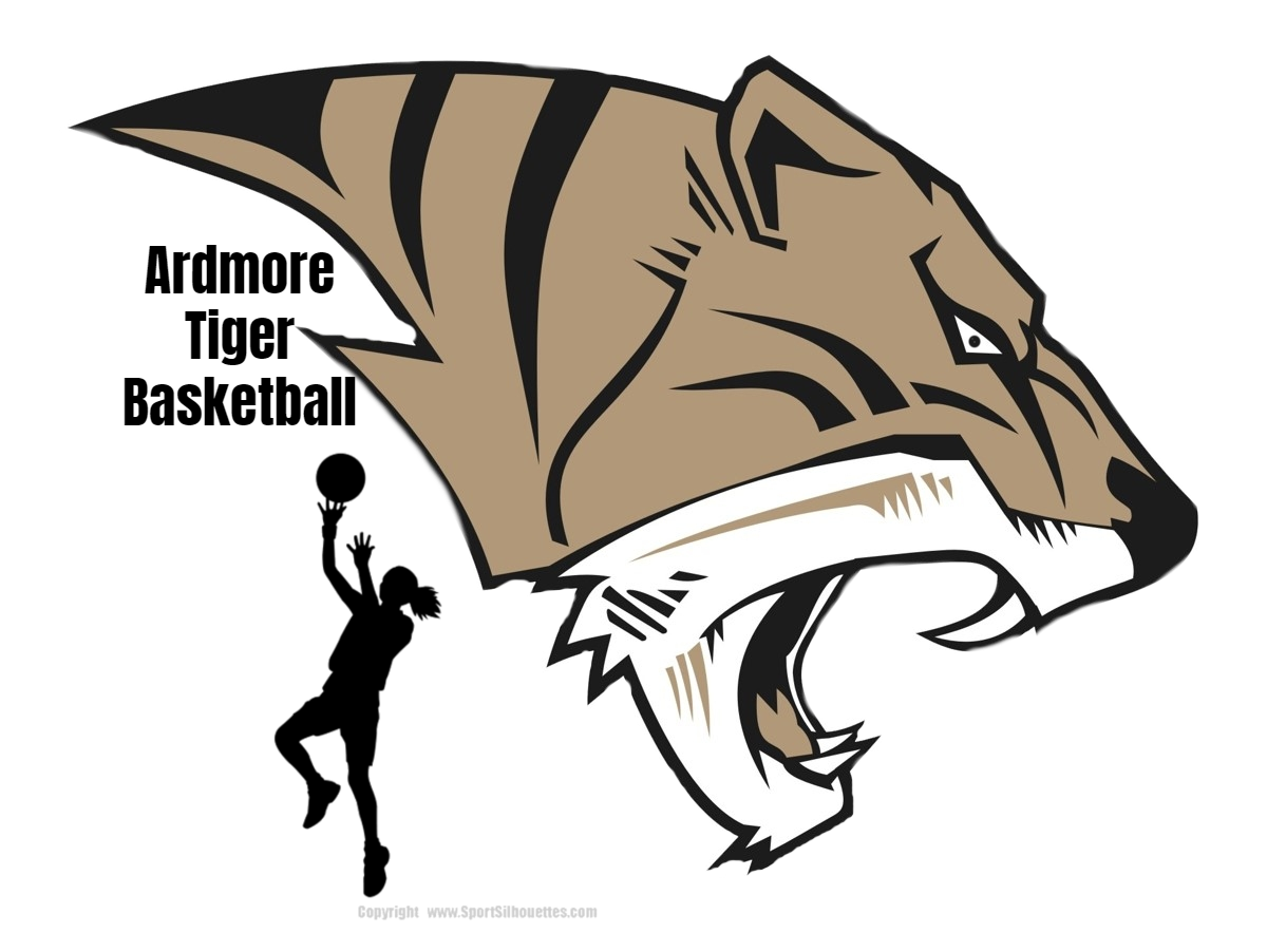 AHS Tiger Head Girls Basketball Logo