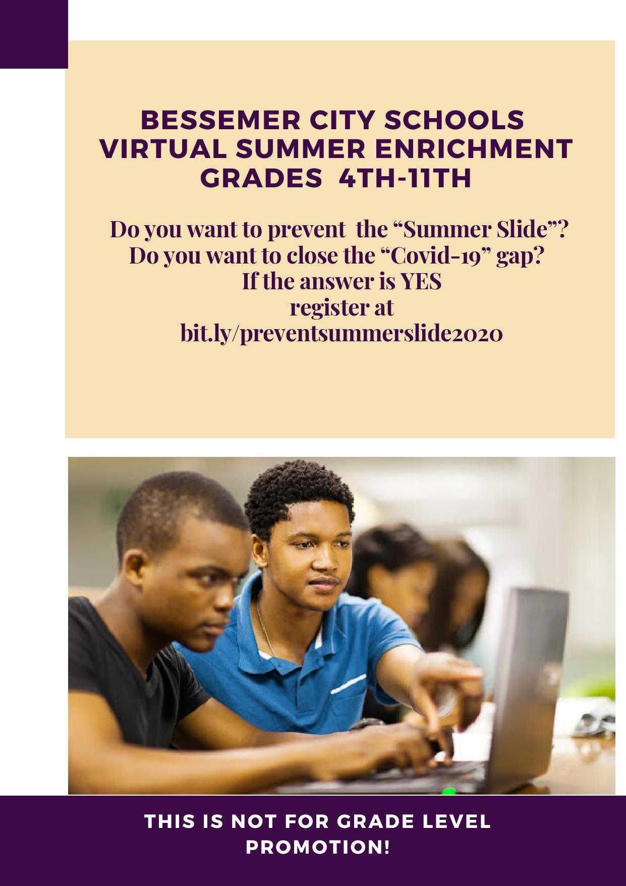 Virtual Summer Enrichment
