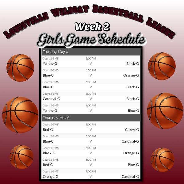 B Ball Schedule 5