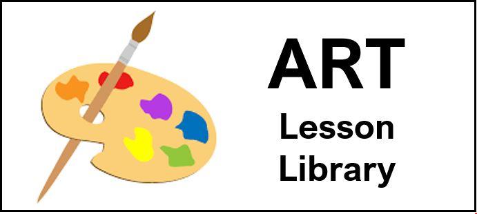 Art Lesson Logo
