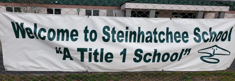 Title 1 School banner
