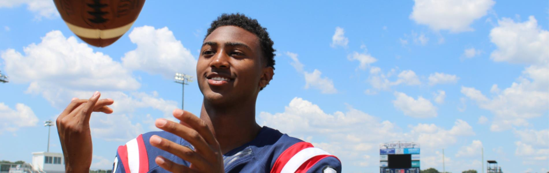 #11 Cameron Threatt, Lewisburg High School football player makes the Dandy Dozen