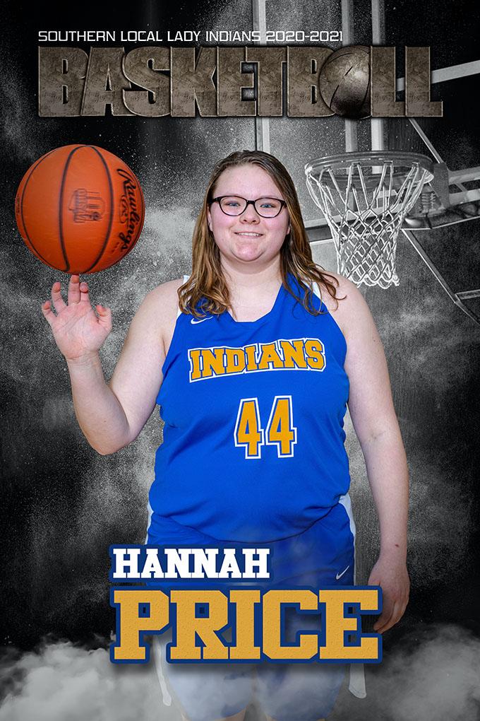 Senior Hannah Price