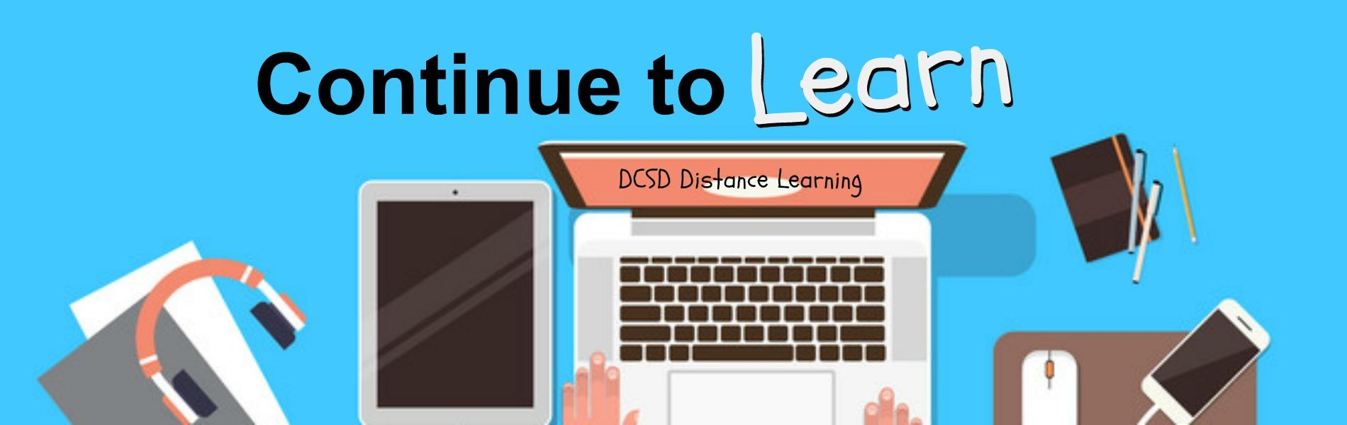 DCSD Distance learning