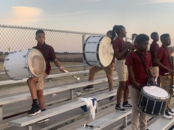 Band percussion section