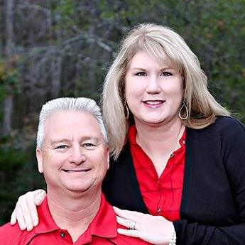 Cathy Taylor  ad her husband, Kyle Taylor