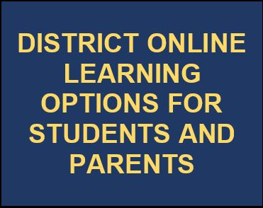 District Online Learning Logo