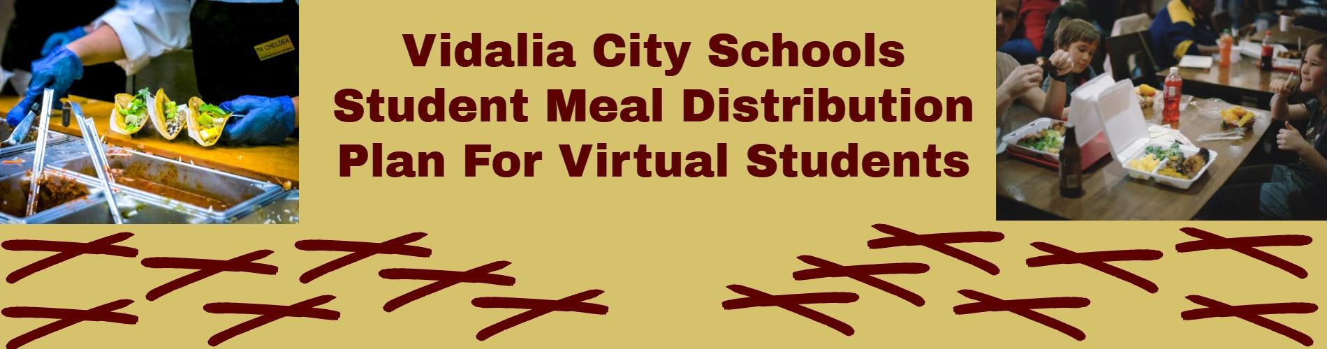 Meal Distribution for Virtual Students