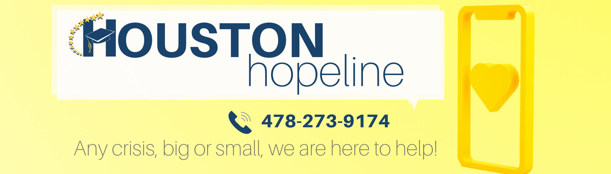 Houston Hopeline  478-273-9174
