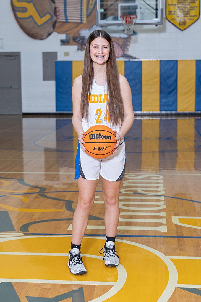 Freshman Paige Riggs