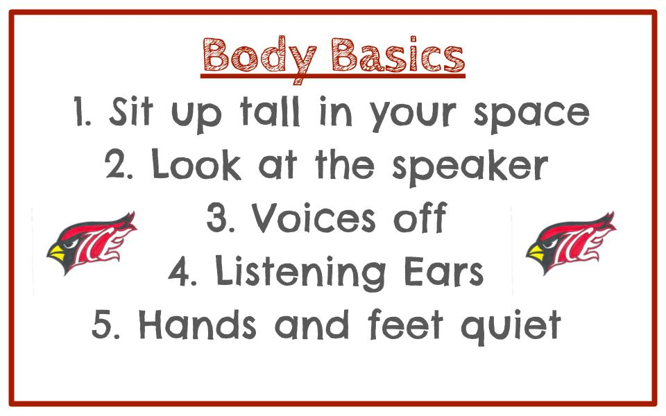 PBIS Body Basics