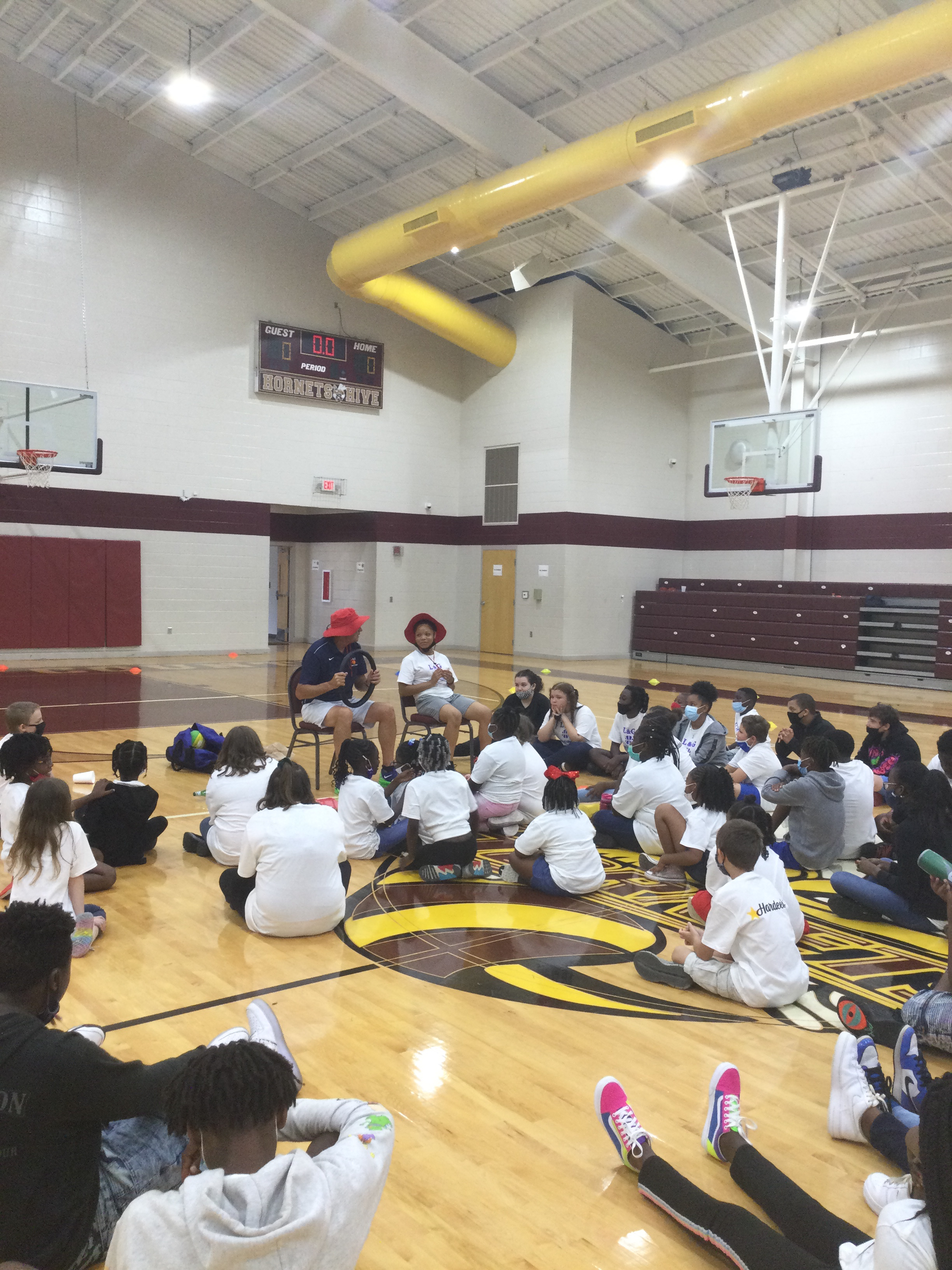 Camp of Champs Learning Time