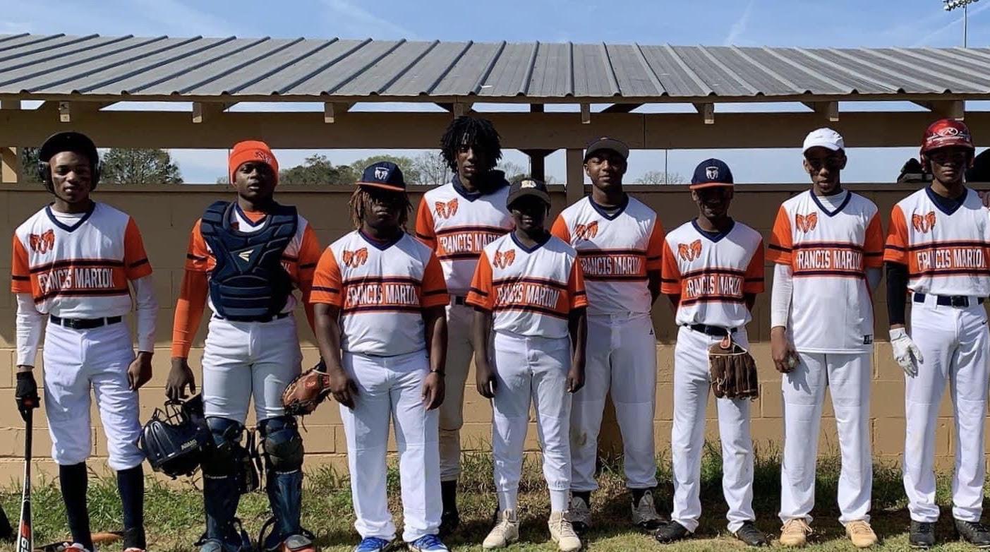 Francis marion Baseball tam