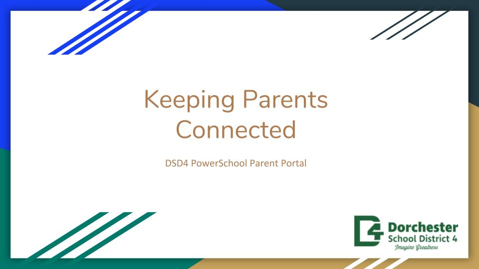 PowerSchool Parent Portal Slideshow