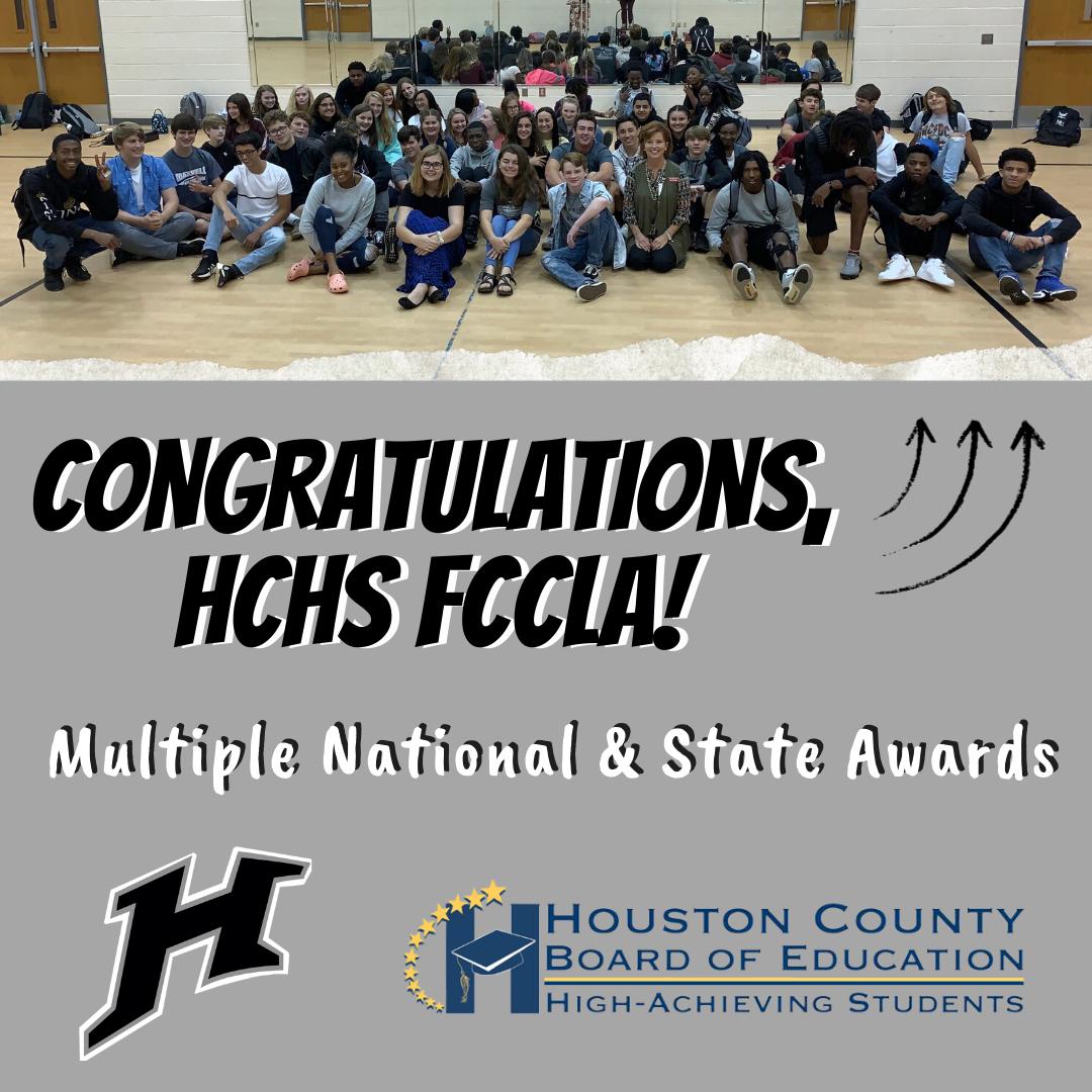 HCHS FCCLA National & State Awards