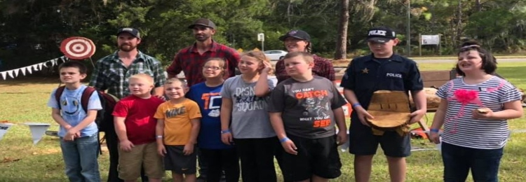 Students at 2019 Forrest Festival