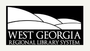 West Georgia Regional Library System Logo
